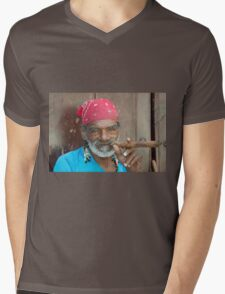 Cigar man  Mens V-Neck T-Shirt