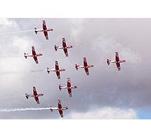 PC-7 Team - Swiss Air Force Photographic Print