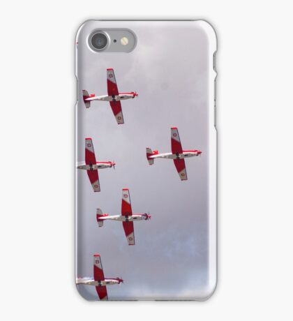 PC-7 Team - Swiss Air Force iPhone Case/Skin