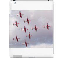 PC-7 Team - Swiss Air Force iPad Case/Skin