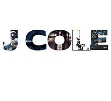 J Cole Album Collage by danstill97