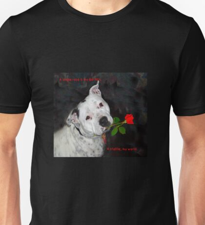 Staffie Love Unisex T-Shirt