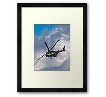 Swiss Air Force Super Puma Framed Print