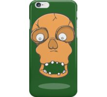 Skully, the friendliest skull of them all iPhone Case/Skin