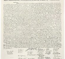 America, Declaration of Independence, United States of America, American Independence, USA by TOM HILL - Designer