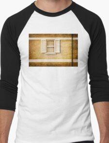 White shutters Men's Baseball ¾ T-Shirt