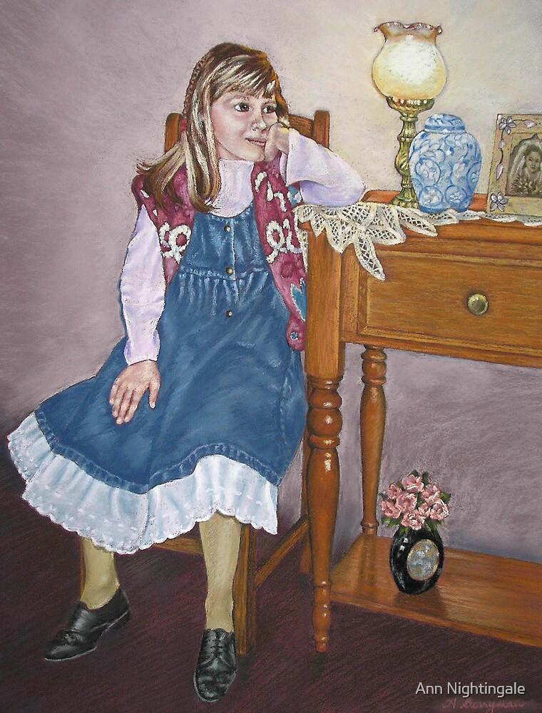 Chloe - 1996 by Ann Nightingale