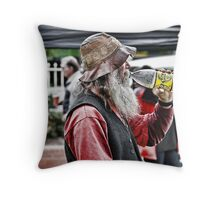 The Swig Throw Pillow