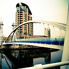 Millennium Lifting Footbridge II by elspiko