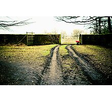 Dunham Park, cold winters day. Photographic Print