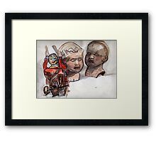 Tintoy with guns Framed Print