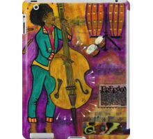 That Sistah on the Bass iPad Case/Skin