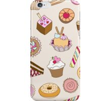 Seamless pattern with sweets iPhone Case/Skin
