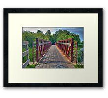 Footbridge Framed Print