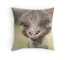 HEY....Eye's Getting Wet Out Here!! Throw Pillow