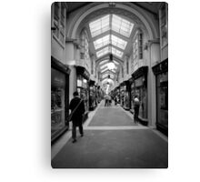 The Burlington Arcade Canvas Print