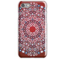 Ornamental round lace pattern.Delicate circle. iPhone Case/Skin