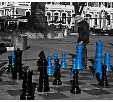 Christchurch chess board Photographic Print