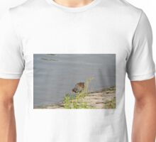 Hiding behind the bush Unisex T-Shirt