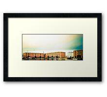 Albert Dock - Liverpool. Framed Print