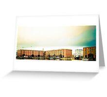 Albert Dock - Liverpool. Greeting Card