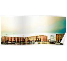 Albert Dock - Liverpool. Poster