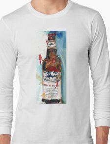 Dogfish Head Brewery - 90 Minute IPA - Beer Art Print Long Sleeve T-Shirt