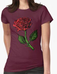 Single Red Rose T-Shirt