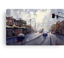 Victoria Road, Gladesville, NSW Canvas Print