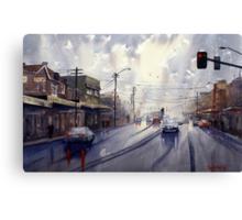 Victoria Road, Gladesville, NSW Canvas Print