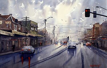 Victoria Road, Gladesville, NSW by Joe Cartwright