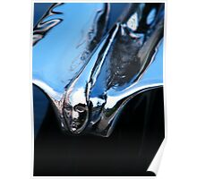 Black Cadillac.... Chrome Thingy Poster