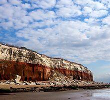 Hunstanton cliffs by BeckiBee