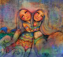 Rainbow Sisters Sky and Sea by © Cassidy (Karin) Taylor