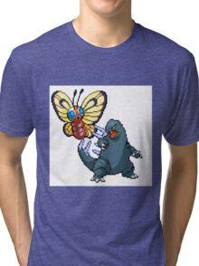 Mothrafree vs Goditar  Tri-blend T-Shirt