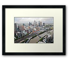 My City - Melbourne, Australia Framed Print