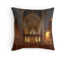 Newcastle Cathedral (HDR using Photomatix) Throw Pillow