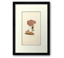 Coloured figures of English fungi or mushrooms James Sowerby 1809 0491 Framed Print