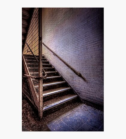 Enter The Darkness Photographic Print