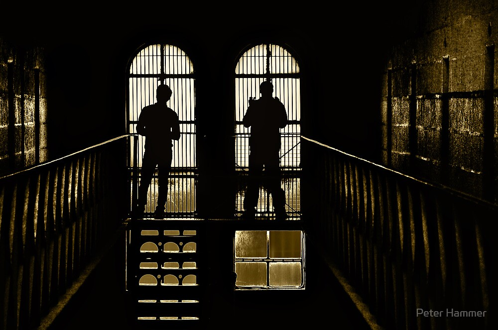 Behind bars by Peter Hammer