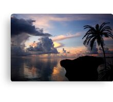 Another Night In Paradise Canvas Print