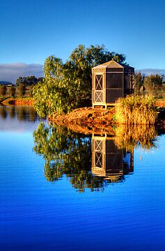 Sunlight on the rotunda, Barossa Valley by Elana Bailey