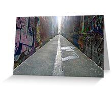 Hosier Lane, Melbourne Greeting Card