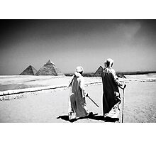 The Pyramids In Cairo Egypt Photographic Print