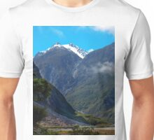 0380 Mountain Scene, South Island, New Zealand Unisex T-Shirt