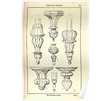 A Handbook Of Ornament With Three Hundred Plates Franz Sales Meyer 1896 0197 Free Ornaments Pendant Knob Poster