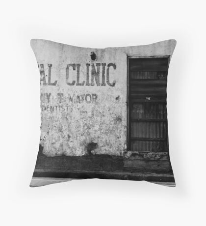 The Dentist Isn't Here Right Now Throw Pillow