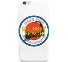 Scusset Beach - Cape Cod Massachusetts iPhone Case/Skin