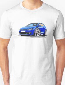 VW Scirocco (Mk3) Blue T-Shirt