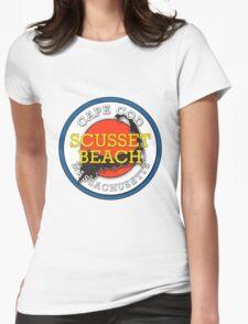 Scusset Beach - Cape Cod Massachusetts Womens Fitted T-Shirt